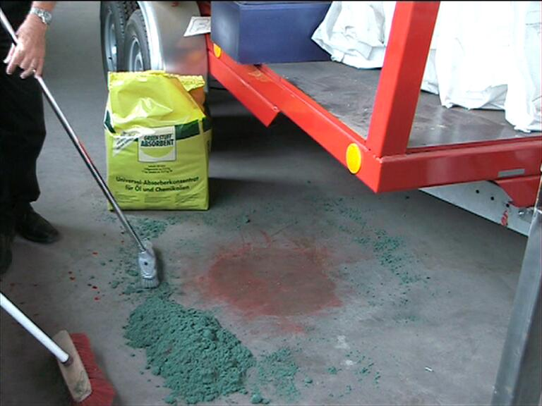 Remove and/or absorb paints with Green Stuff​®