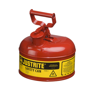 Safety cans for flammable liquids