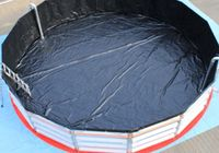 Storage tanks, pools