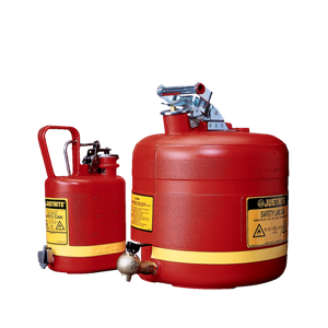 Safety cans for flammable liquids of PE