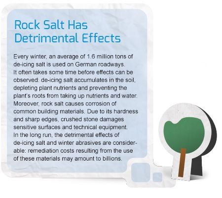 Detrimental Effects Rock Salt