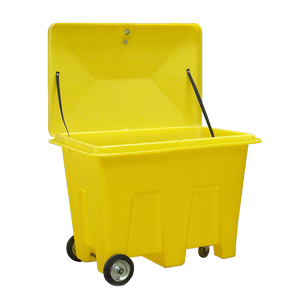 Winter grit-Grit bin for gritting agents winter maintenance
