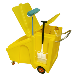 Winter gritting agents-Grit bin