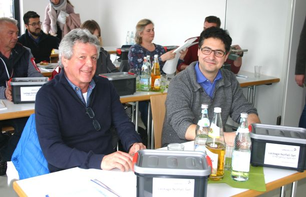 Seminar professionelles Leckage-Notfall-Management